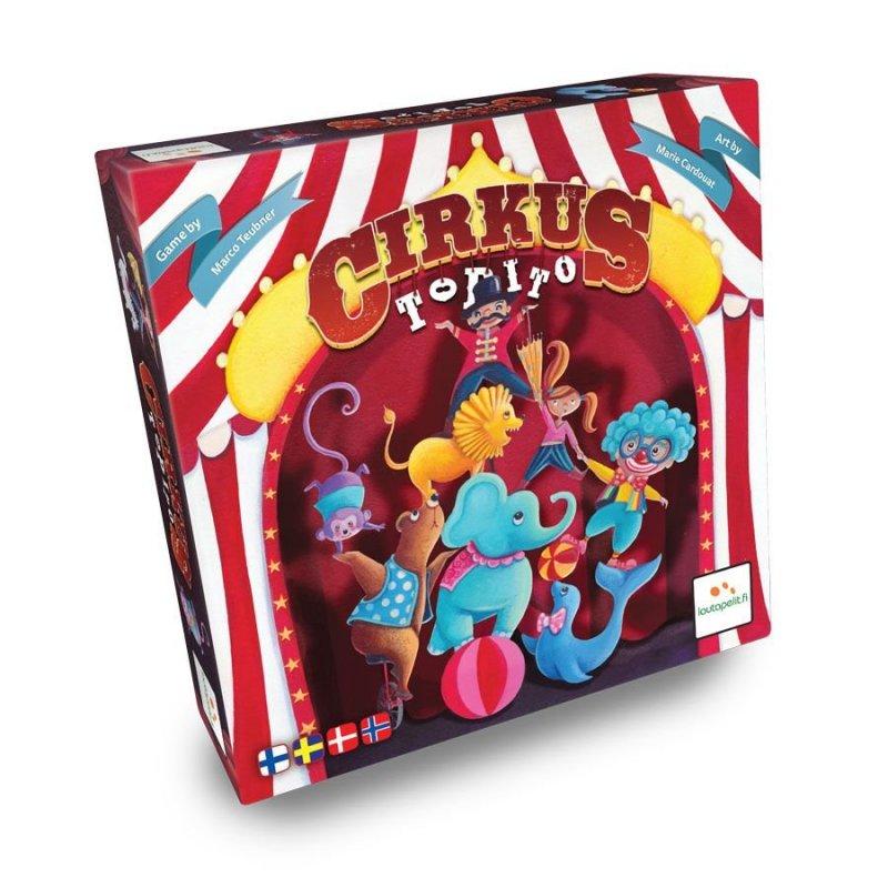Cirkus Topito - Brætspil - Nordisk