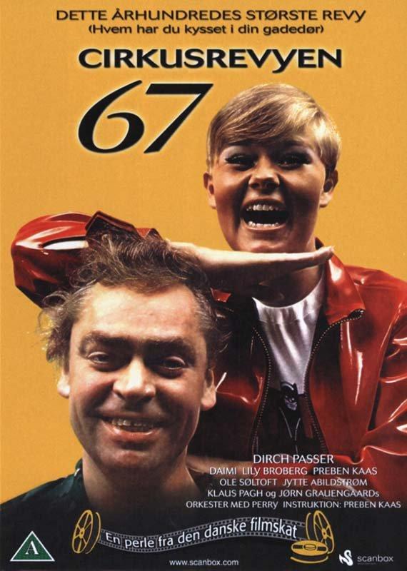 Image of   Cirkusrevyen 1967 - DVD - Film