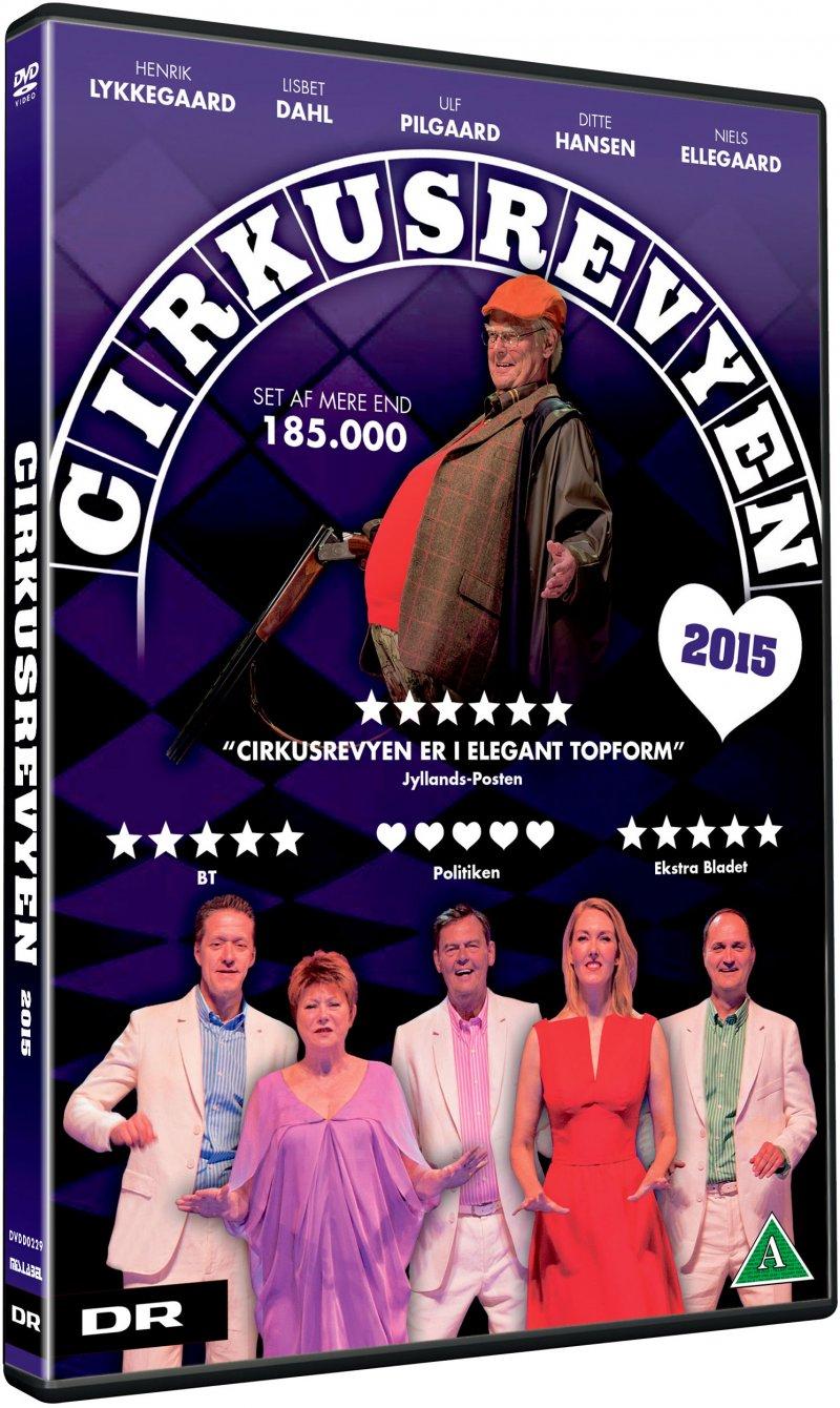 Image of   Cirkusrevyen 2015 - DVD - Film