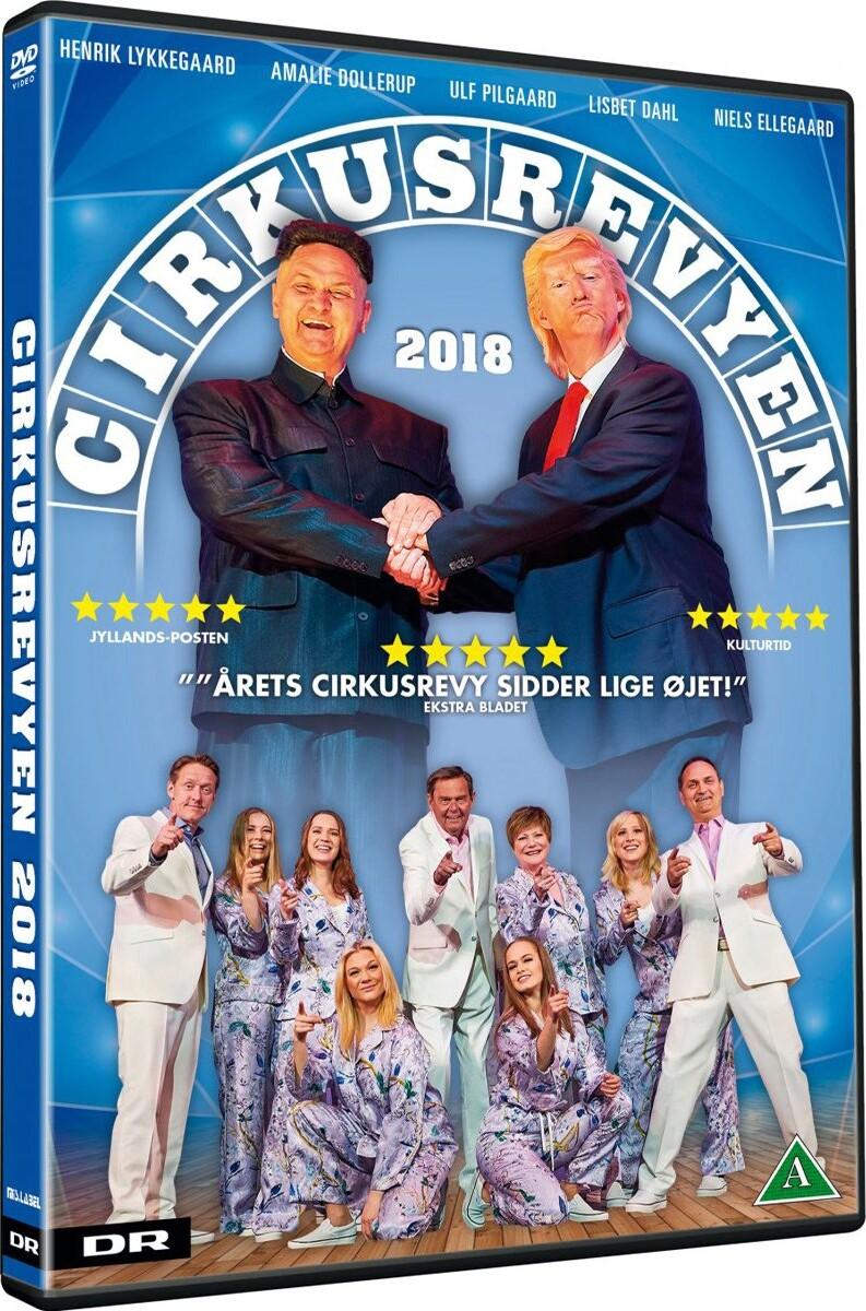 Image of   Cirkusrevyen 2018 - DVD - Film