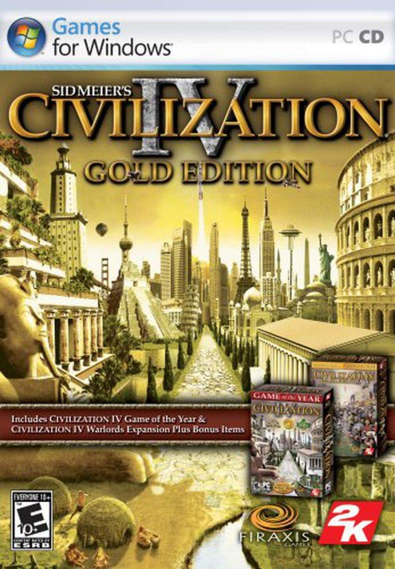 Image of   Civilization Iv - Gold Edition - PC