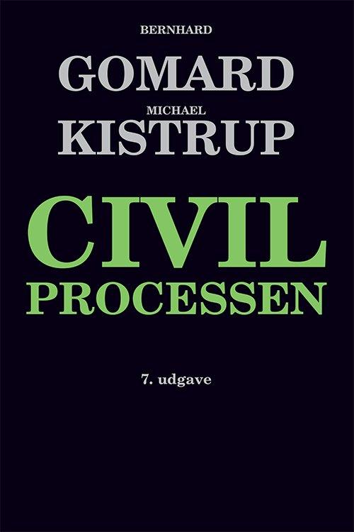 Billede af Civilprocessen - Bernhard Gomard - Bog