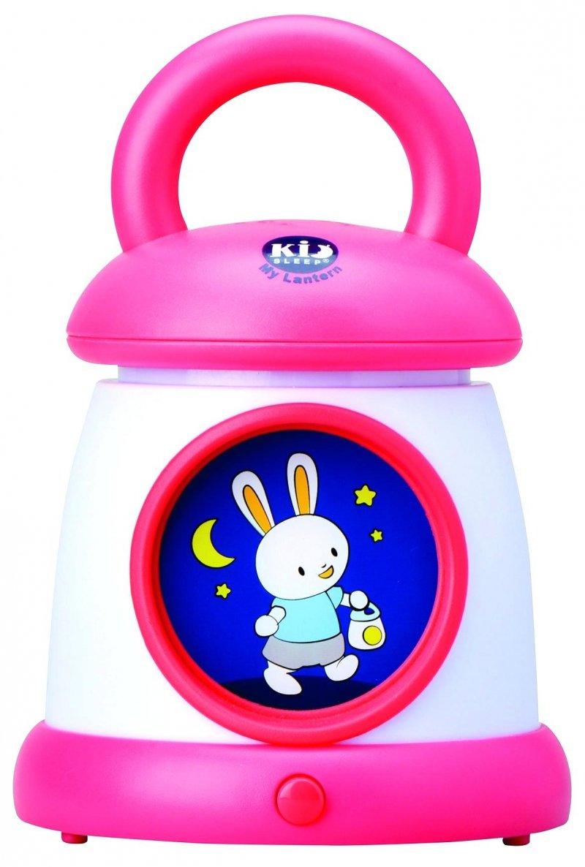 Image of   Claessens Kids - Kidsleep Min Lanterne - Natlampe Med Vuggeviser - Pink