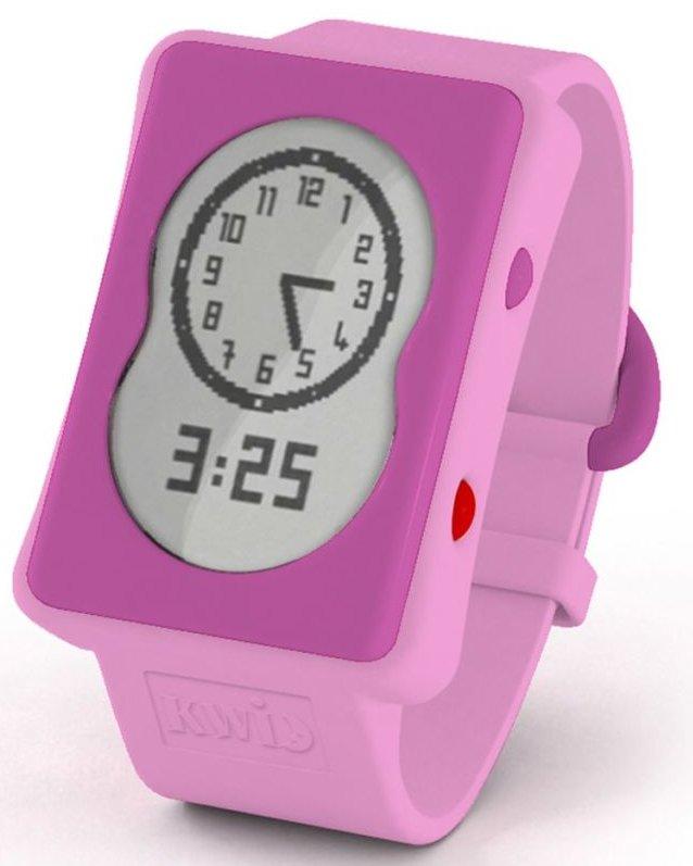 Claessens Kids - Kwid - Timeglas Og Ur - Pink