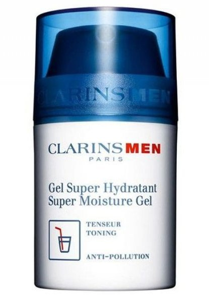 Image of   Clarins Men Super Moisture Gel - 50 Ml.