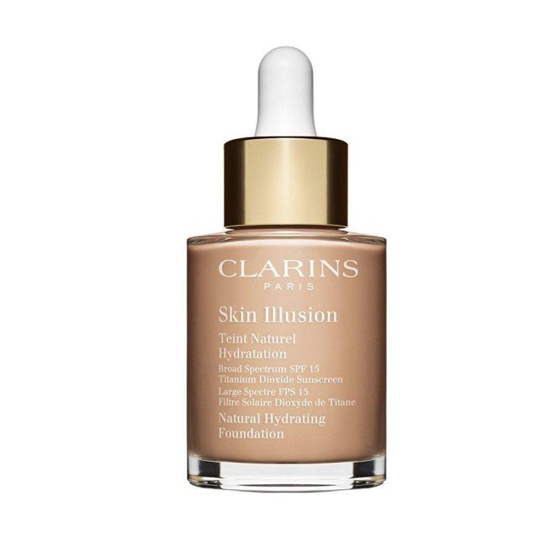 Image of   Clarins Foundation - Skin Illusion Spf 10 - Cashew