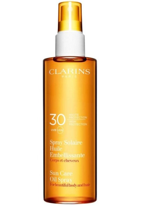 Image of   Clarins Sun Care Spray Gentle Milk Lotion Spf 20 - 150 Ml.