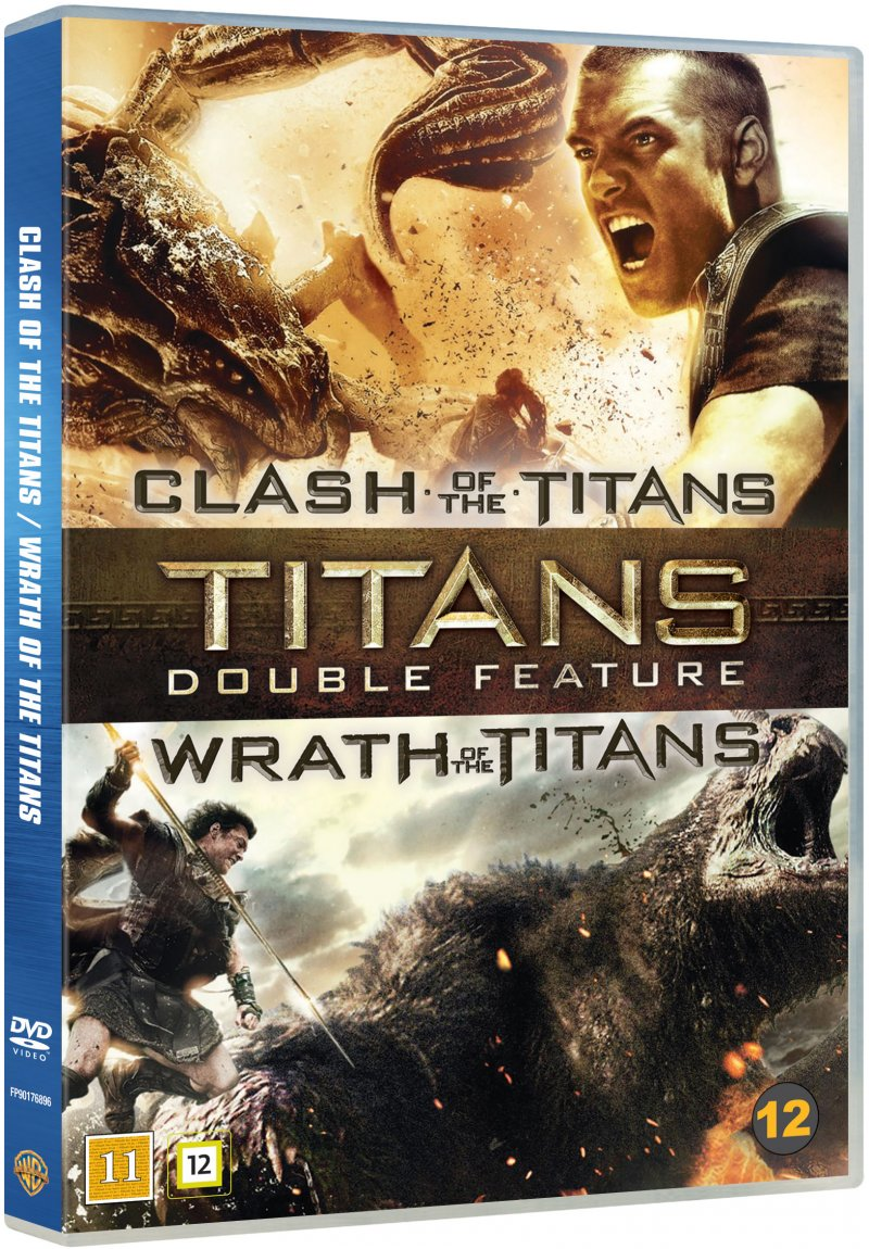Image of   Clash Of The Titans // Wrath Of The Titans - DVD - Film