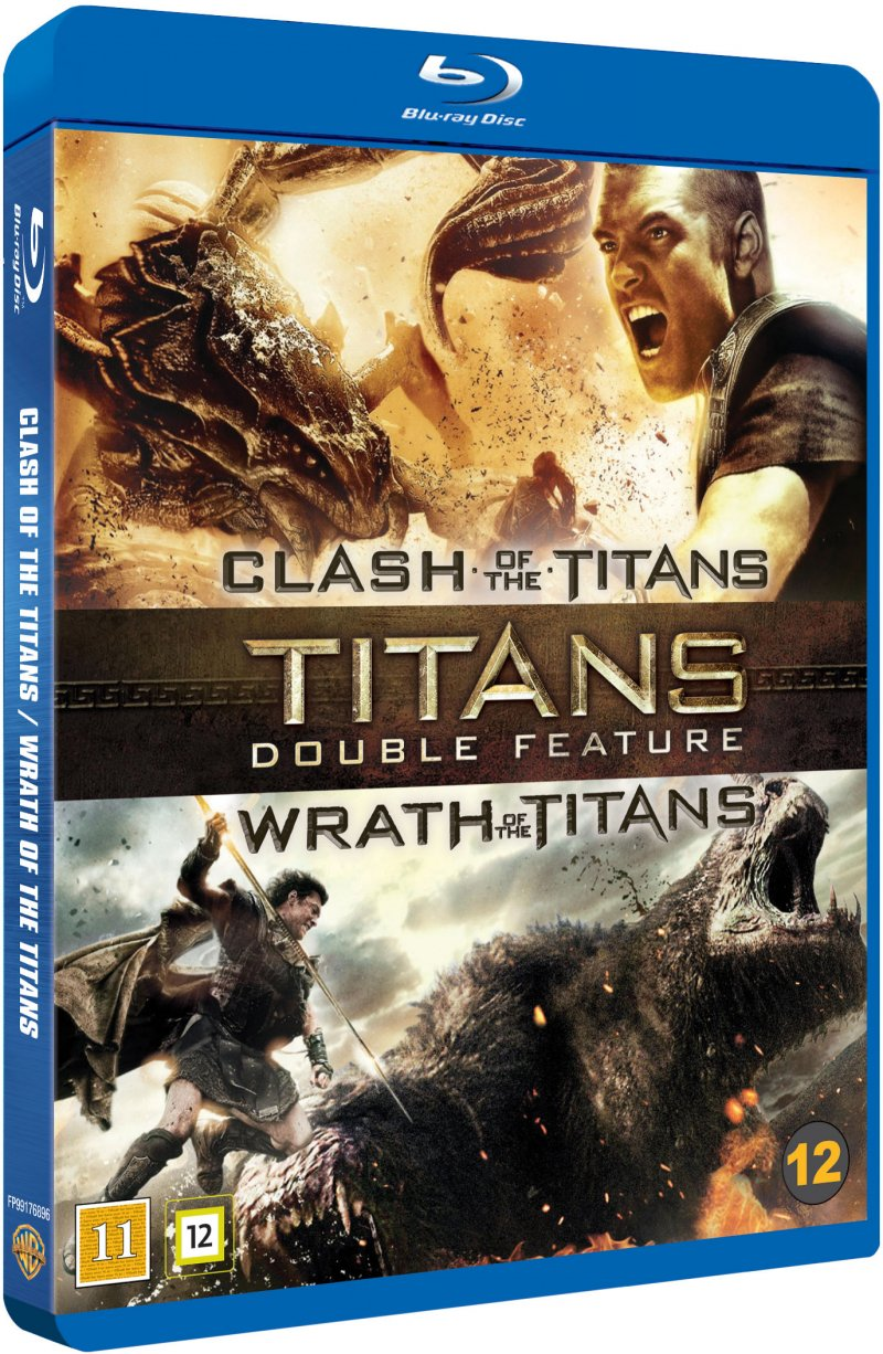 Image of   Clash Of The Titans // Wrath Of The Titans - Blu-Ray