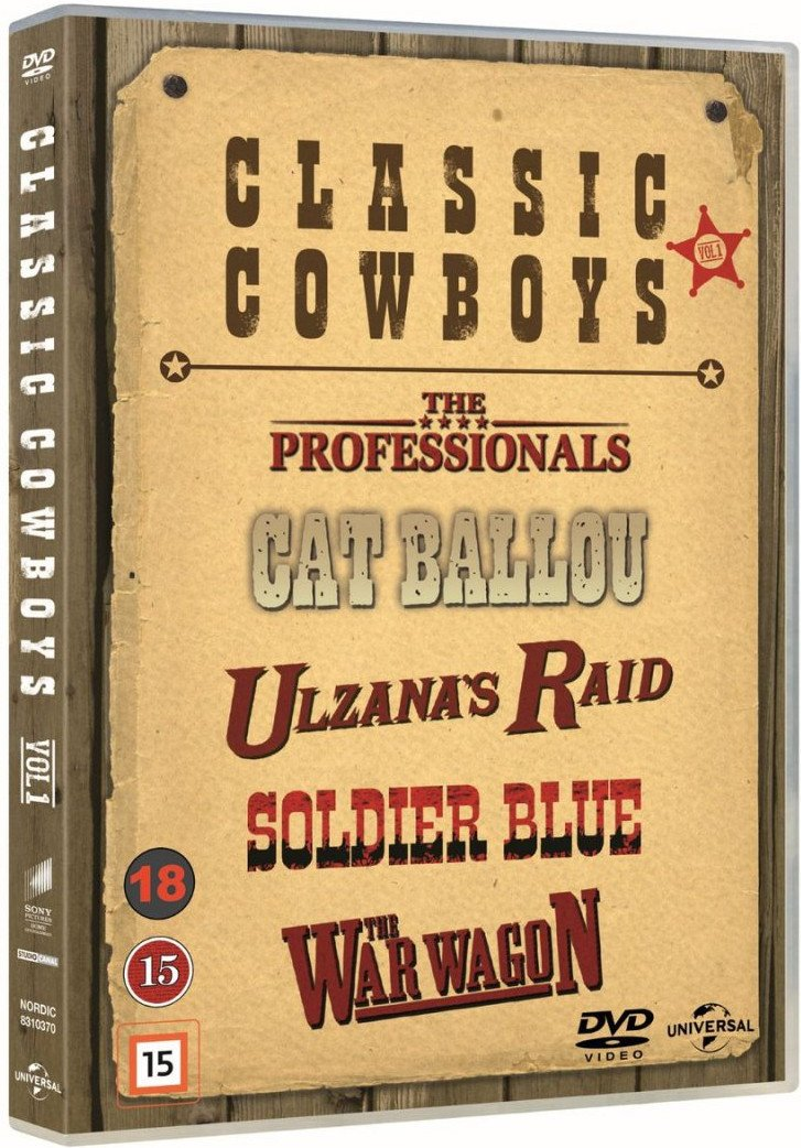 Classic Cowboys - Vol. 1 - DVD - Film