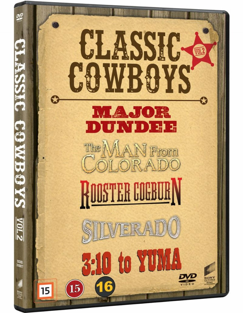 Image of   Classic Cowboys - Vol. 2 - DVD - Film