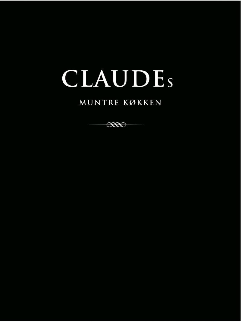 Claudes Muntre Køkken - Claudia Siesbye Halsted - Bog