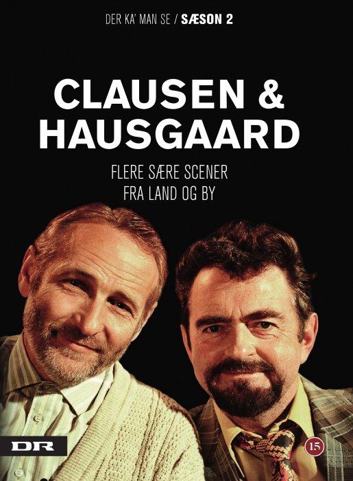 Image of   Clausen Og Hausgaard - Der Kan Man Se - Sæson 2 - DVD - Tv-serie