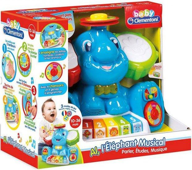 Aktivitetslegetøj Til Børn - Musikalsk Elefant