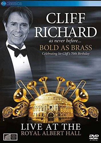 Image of   Cliff Richard - Bold As Brass - Live At Royal Albert Hall - DVD - Film