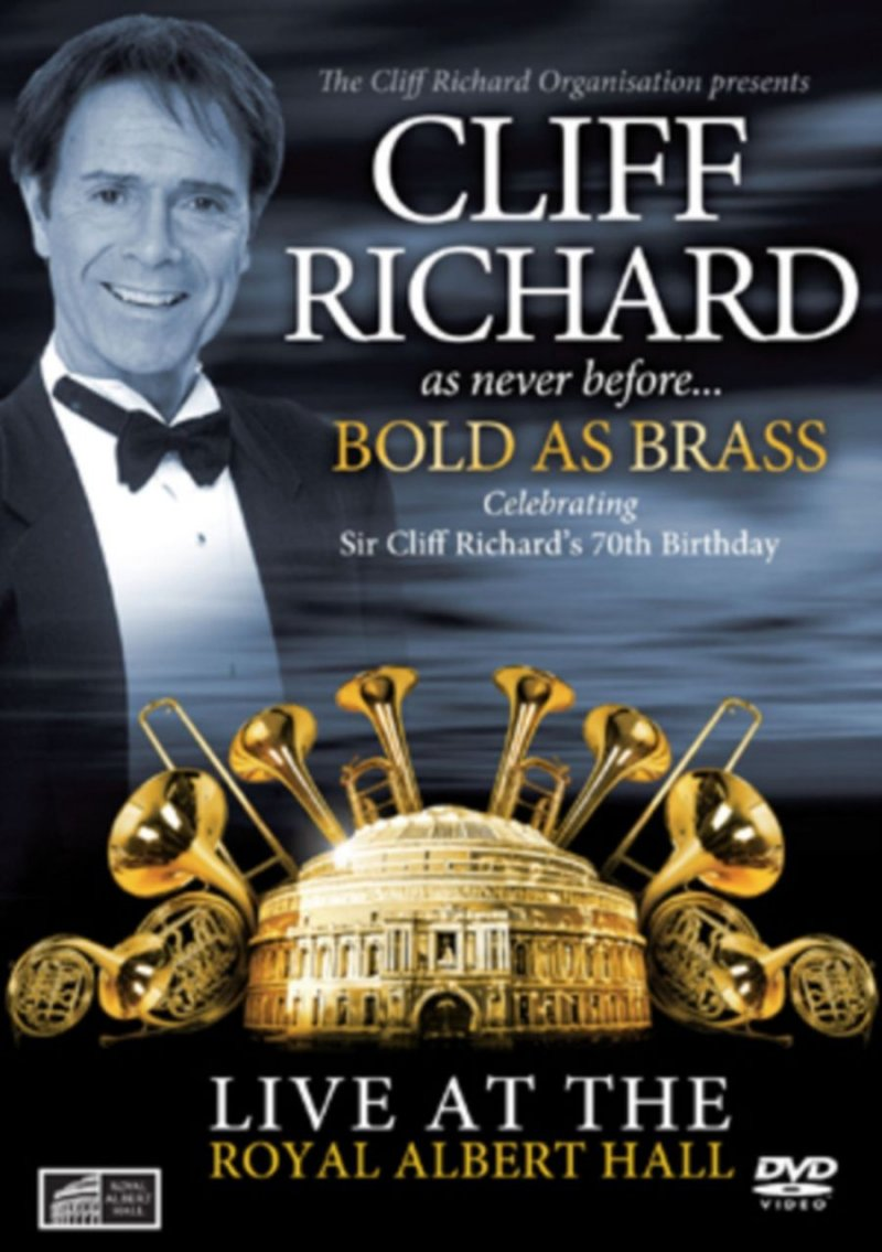 Cliff Richard: Bold As Brass - Live At The Royal Albert Hall - DVD - Film