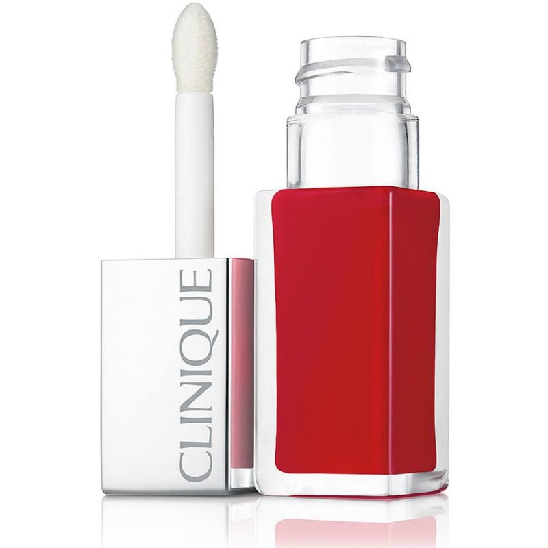 Clinique Pop Lacquer Lip Colour + Primer - Lava Pop