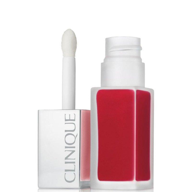 Image of   Clinique Pop Liquid Matte Lipstick - Flame Pop