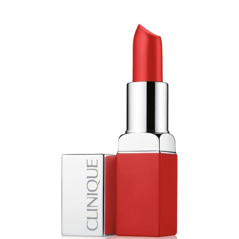 Image of   Clinique Pop Stick Matte Lipstick - Ruby Pop