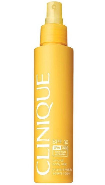 Image of   Clinique Sun - Virtu Oil Body Mist Spf30 144 Ml