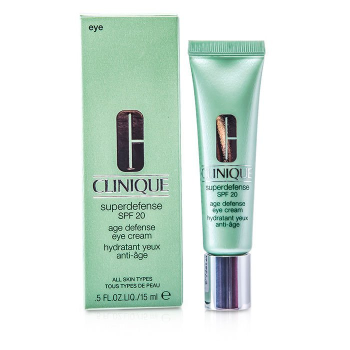 Image of   Clinique - Superdefense Spf 20 Age Defense Eye Cream 15 Ml.