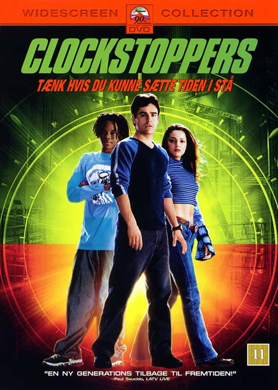 Image of   Clockstoppers - DVD - Film