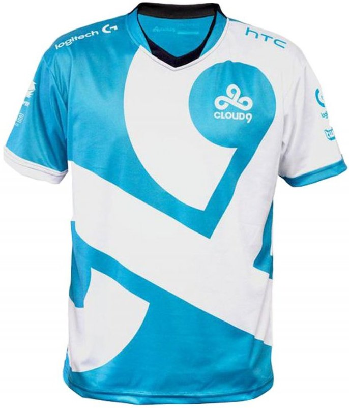 Image of   Cloud9 Player Jersey / Esport Trøjer - M