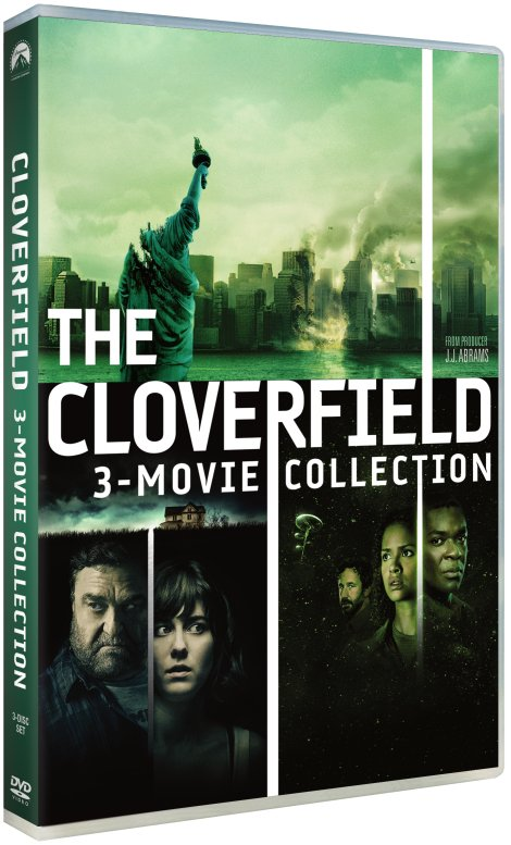 Image of   Cloverfield 1-3 - DVD - Film