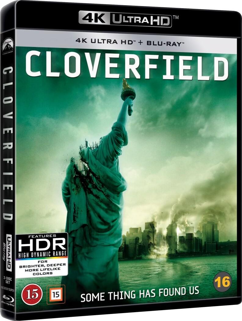 Image of   Cloverfield - 4K Blu-Ray