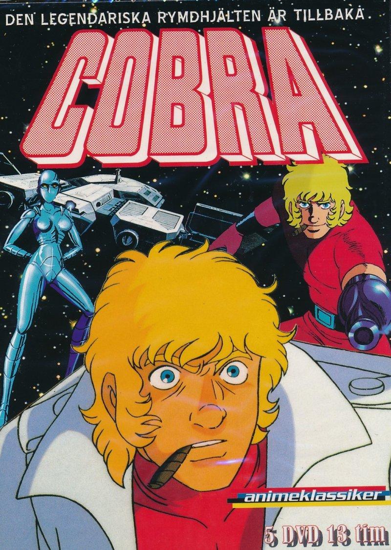 Billede af Cobra - Space Adventure - Den Komplette Serie - DVD - Tv-serie