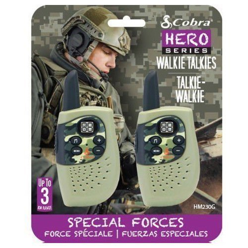 Legetøjs Walkie Talkie - Cobra Walkie Talkie Special Forces