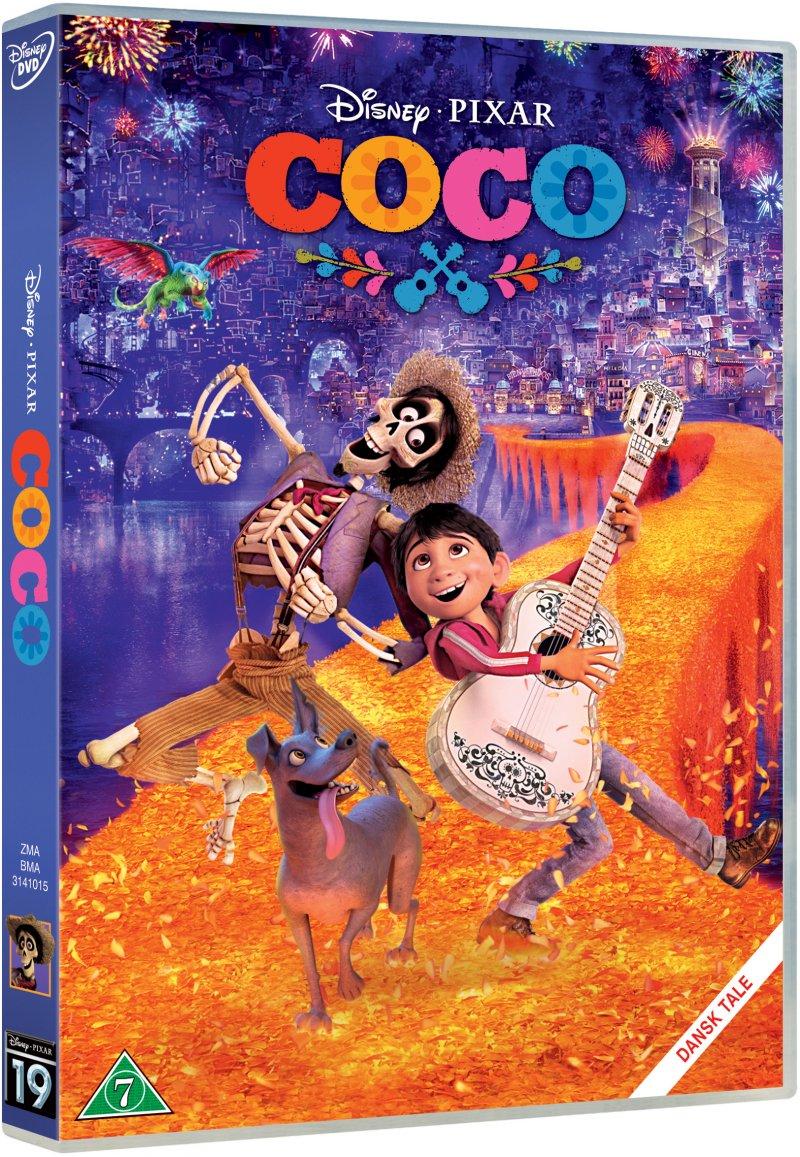 Billede af Coco - Disney Pixar - DVD - Film