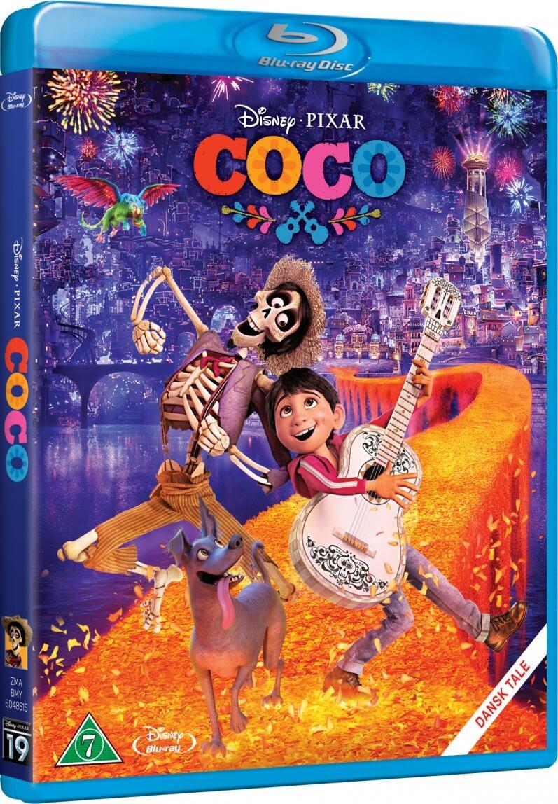 Image of   Coco - Disney Pixar - Blu-Ray