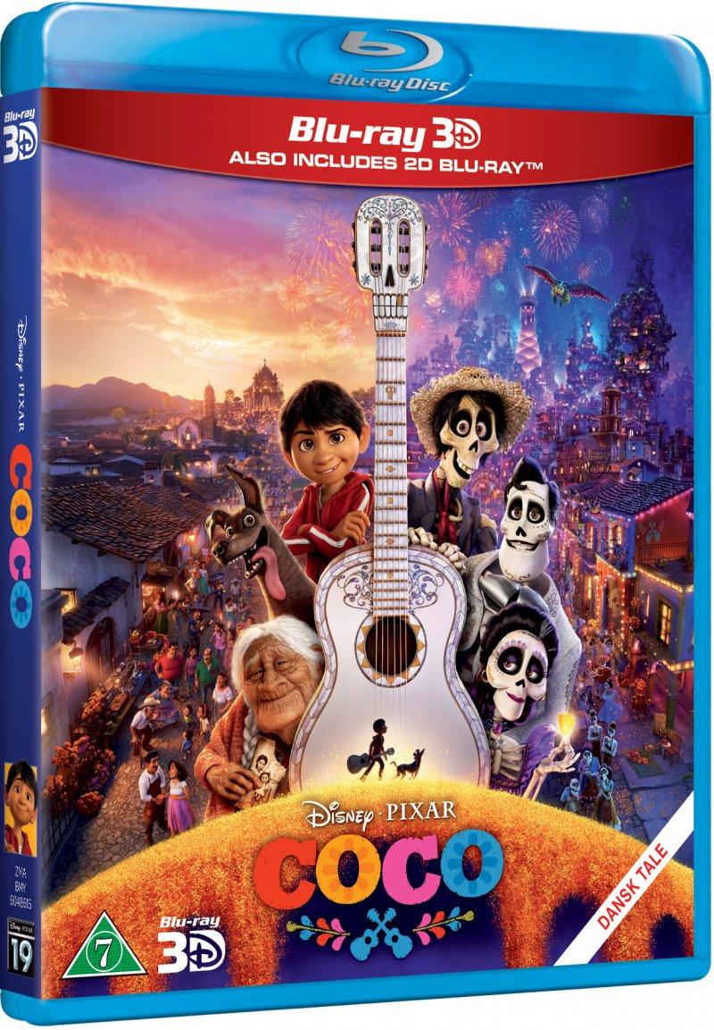 Billede af Coco - Disney Pixar - 3D Blu-Ray
