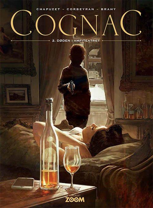 Image of   Cognac 2: Døden I Amfiteatret - Chapuzet - Tegneserie