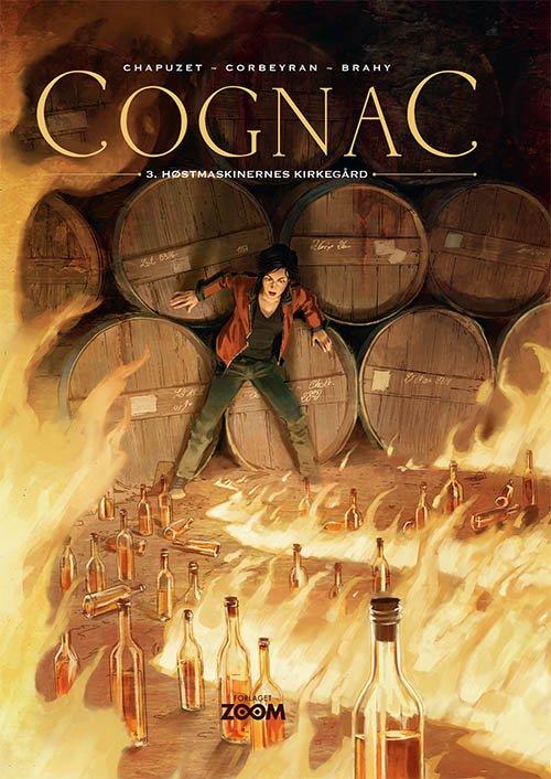 Image of   Cognac 3: Høstmaskinernes Kirkegård - Chapuzet - Tegneserie