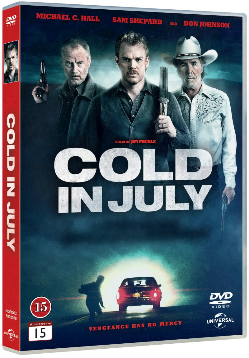 Image of   Cold In July - DVD - Film
