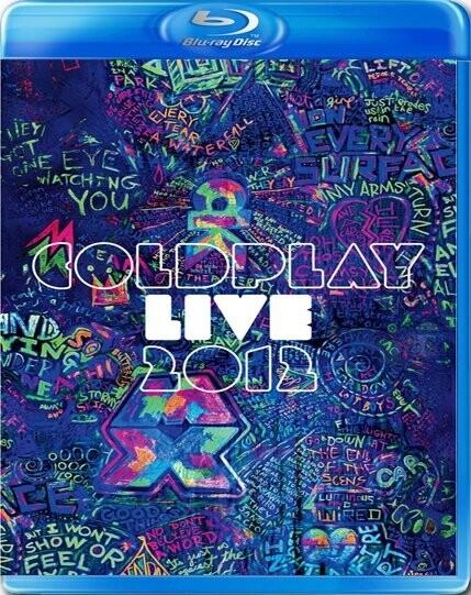 Image of   Coldplay - Live 2012 (blu-ray+cd) - Blu-Ray
