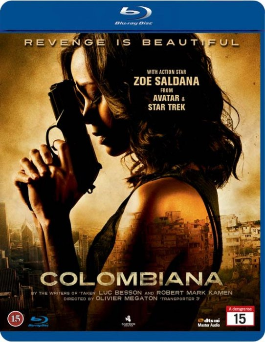 Image of   Colombiana - Blu-Ray
