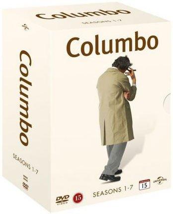 Image of   Columbo - Sæson 1-7 - DVD - Tv-serie