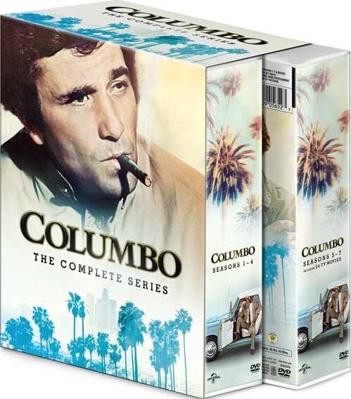 Image of   Columbo Boks - Sæson 1-7 - DVD - Tv-serie