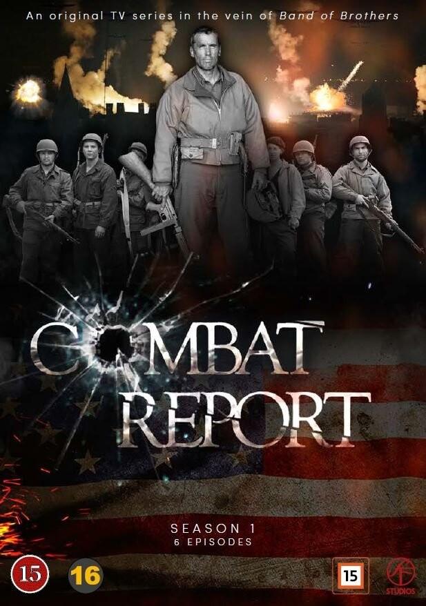 Image of   Combat Report - DVD - Tv-serie