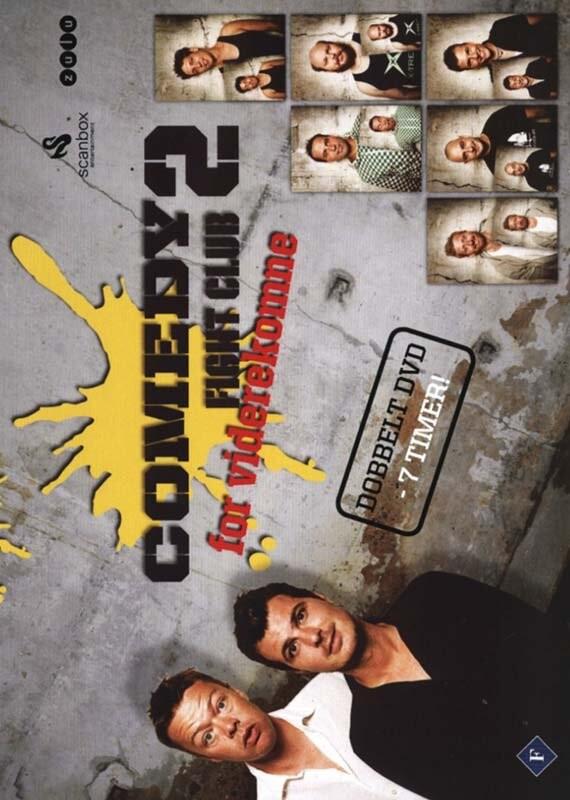 Image of   Comedy Fight Club - Sæson 2 - DVD - Film