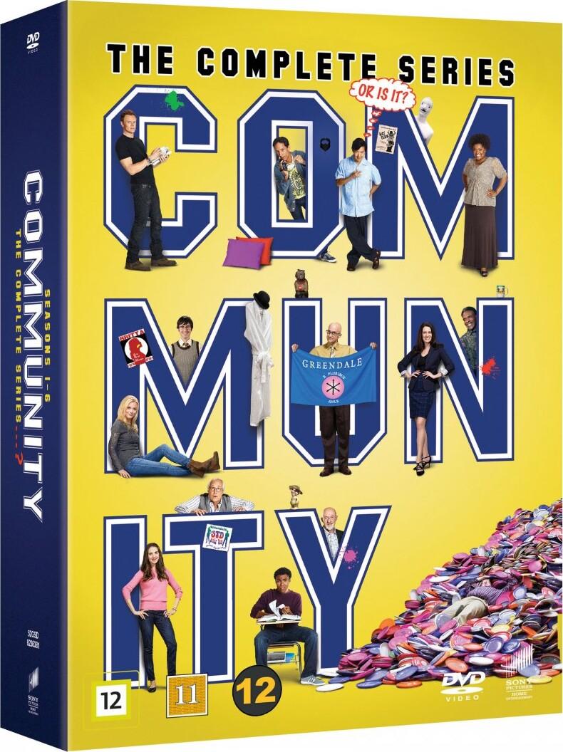 Image of   Community - Den Komplette Serie - DVD - Tv-serie