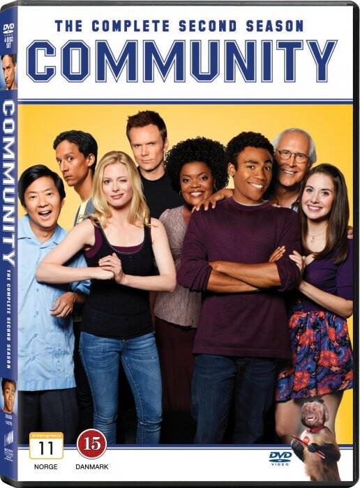 Image of   Community - Sæson 2 - DVD - Tv-serie