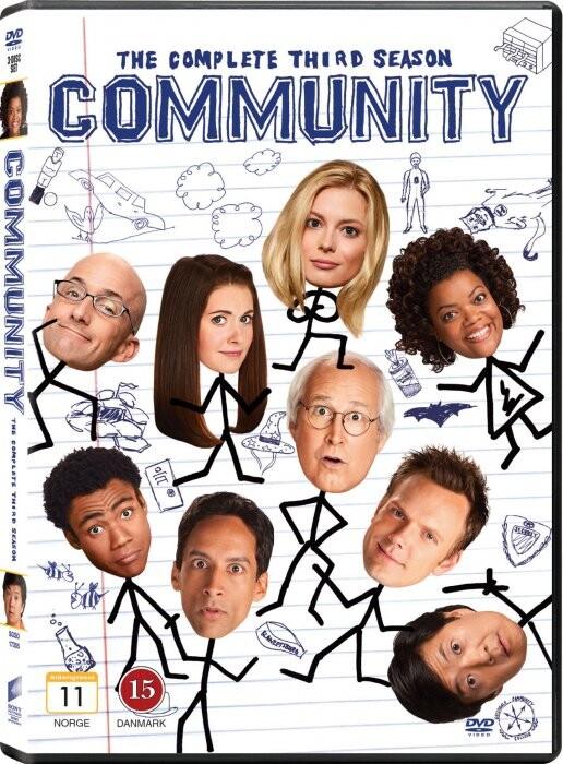 Image of   Community - Sæson 3 - DVD - Tv-serie