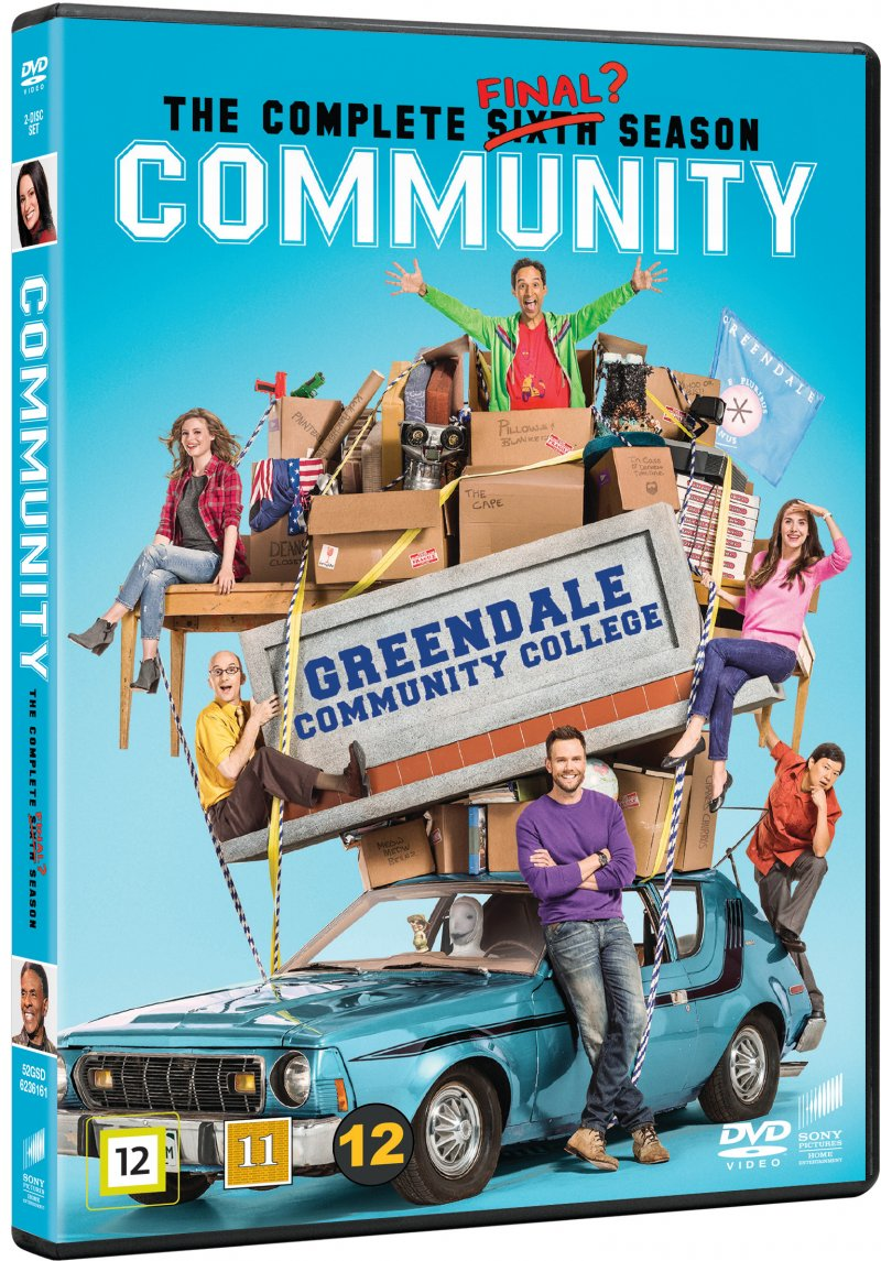 Image of   Community - Sæson 6 - DVD - Tv-serie