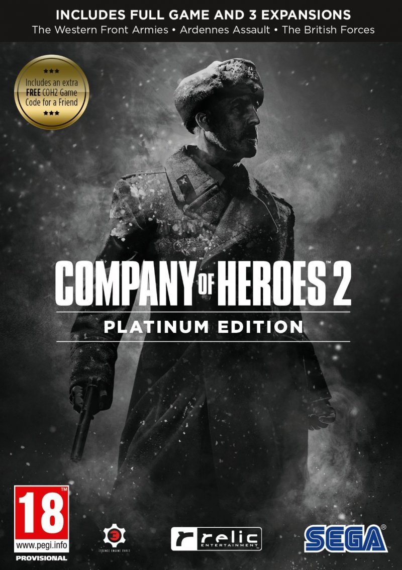 Image of   Company Of Heroes 2 Platinum Edition - PC
