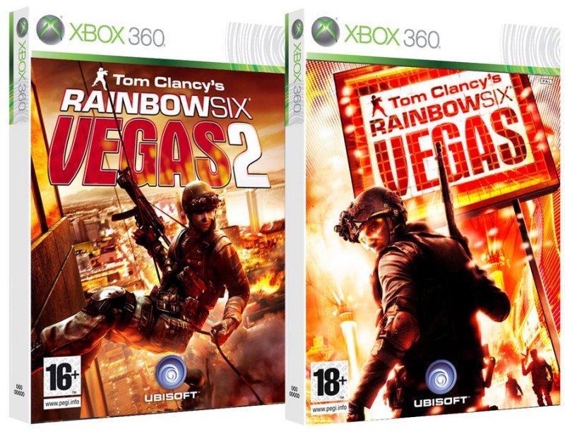 Image of   Compilation Rainbow Six Vegas 1 + 2 - Xbox 360