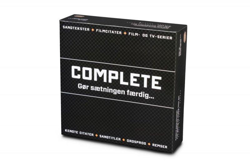 Complete - Brætspil - Gør Sætningen Færdig